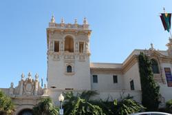 San Diego museum in Balboa park